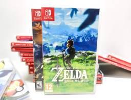 Zelda Breath Of The Wild - Nintendo Switch (Aceito outros games, parcelo e entrego)