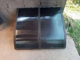 Vendo toldo policarbonato fume e alumínio. R$ 350 reais