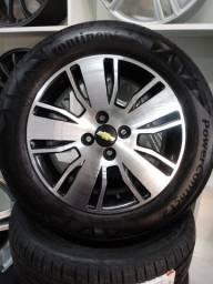 Rodas originais Cobalt aro 15 com pneus