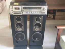 Aparelho de som da marca Sony estéreo som Hmk de 535
