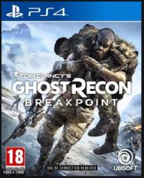 Jogo Ps4 - ghost recon breakpoint