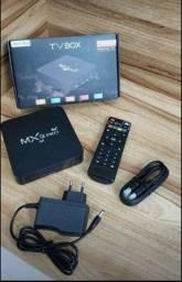 Tv box- 1 mês de garantia e 64 GB