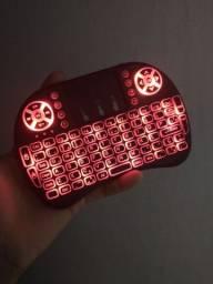 Tv box + controle com led