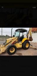 VENDO RETROESCAVADEIRA NEW HOLLAND LB110 4x4/ PARCELADO