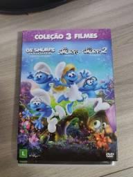 Trilogia os Smurfs DVD (NOVO)