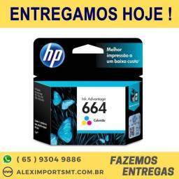 Cartucho de Impressora Tinta HP 664 Colorido Original