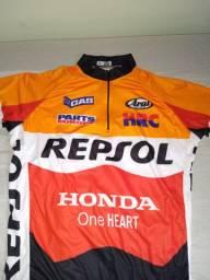 Camisa de MTB tamanho g Repsol