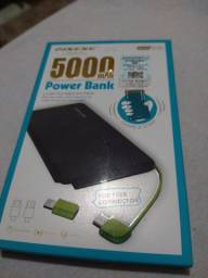 Power bank carregador 5000 mah Portatil Pineng Slim original