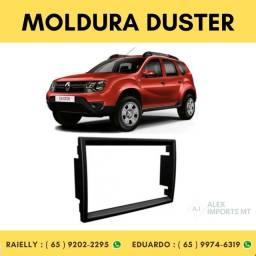 Moldura Renault Duster Expression 2din Black Piano Moudura Duister Modura
