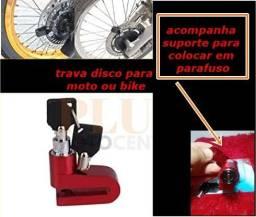 Trava disco para moto ou bicicleta anti furto