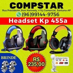 Fone Headset gamer com brinde gatilho R11