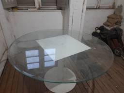 Tampo de mesa de vidro 20mm bisotado 1,4m