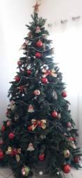 Árvore de Natal + enfeites