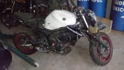 Moto Para Retirada De Peças / Sucata Yamaha Xj6 N