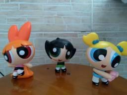 Bonecos meninas superpoderosas mc donalds