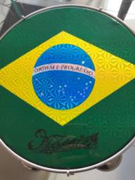 Pandeiro Bandeira do Brasil