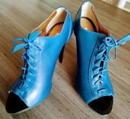 Bota_summer boot - Ideal com vários looks. Azul da cor do mar!