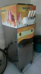 Maquina fazer sorvete italiano