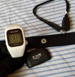 Relógio Monitor Cardíaco Polar A300 Branco