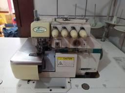 Máquina de costura , overloque 4 fios