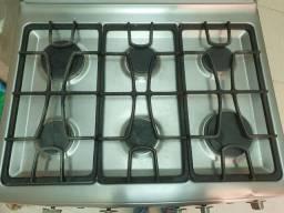 Fogao 6 bocas Smart Cook General Electric