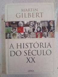 """Livro capa dura seminovo """"A história do século XX"""""""
