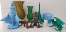 Peças feitas em 3D PLA torrando...