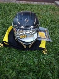 Novo- Zero Capacete Scorpion Exo 1000 Tam. 60