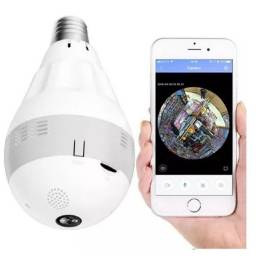 Lâmpada Câmera de Segurança 360°<br>