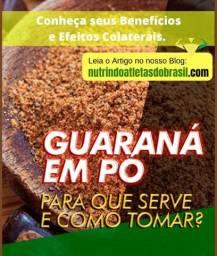 Guaraná em pó de maués