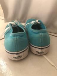 Vans azul claro original