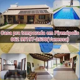 Casa pra temporada em Pirenópolis
