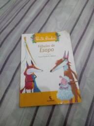 Livro infantil fábulas de esopo