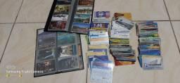Cartões  colecionáveis antigos