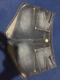 2 shorts jeans número 38