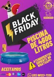 Super Black Friday! Piscina MOR de 4600 Litros!