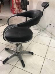 3 Cadeiras para barbearia(Leia a descrição)