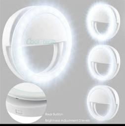 Luz Led para Celular com 3 Níveis de Potência! 3 Cores