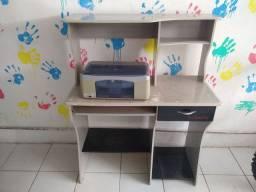 Estante pra computador com impressora
