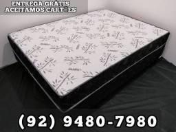 ENTREGA GRÁTIS CAMA BOX CASAL ESPUMA
