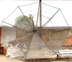 Antena Parabólica + itens de instalação