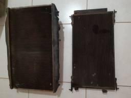 Radiador completo e condensador new Civic