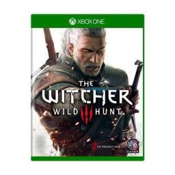 Jogo the Witcher 3 Wild Hunt Xbox One nunca usado