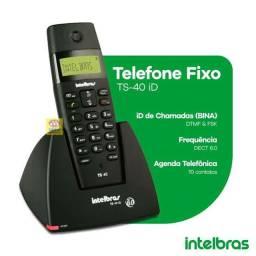 Telefone sem fio Intelbras TS 40 ID ramal