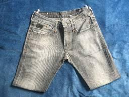 Calça Jeans Cinza Colcci Tamanho 42