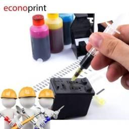 Recarga de cartuchos Toner e manutenção de impressoras