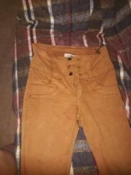 Calça jeans marrom número 36