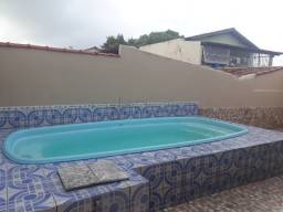 JS-Casa Linear 3quartos, suíte, piscina, quintal, terraço, varanda, 350mil, Porto Canoa
