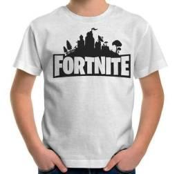 Camisa Infantil Fortnite ENTREGA GRÁTIS