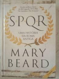 """Livro capa dura seminovo """"Uma História da Roma Antiga"""""""